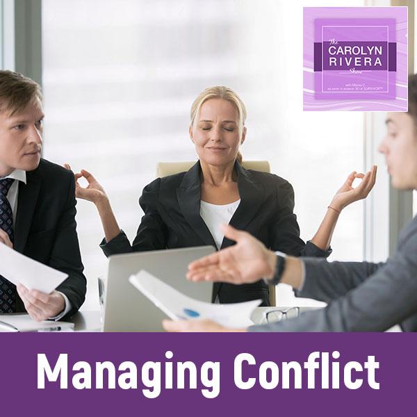 CRS 009 | Conflict Management Strategies